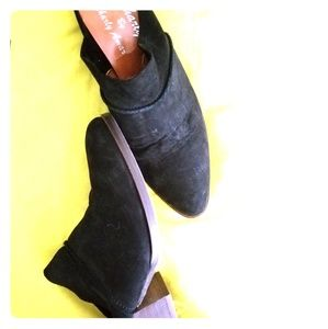 Suede Mules size 8
